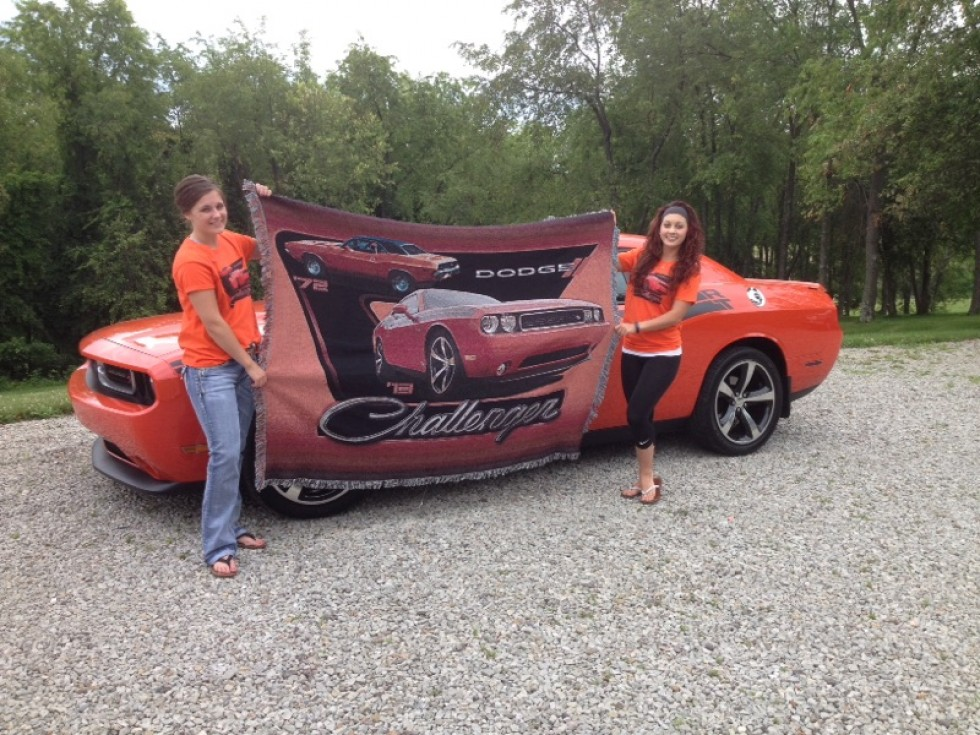 Challenger with Custom Blanket
